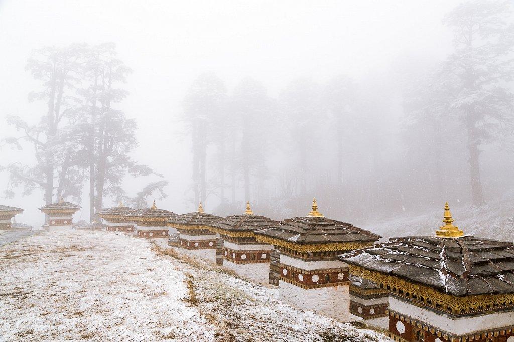 Chorten, Dochu La Pass, Bhutan