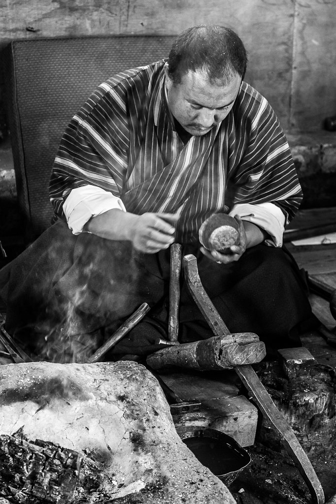 Kunsthandwerker ∙ Craftsman, Bhutan