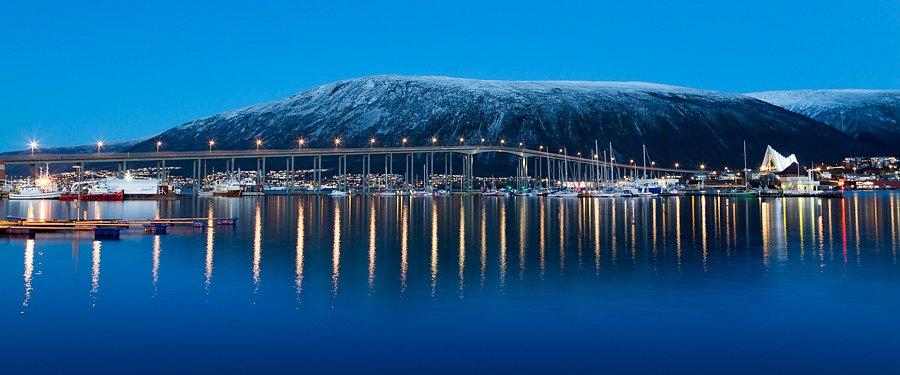 Der Weg des Lichts (Tromsøbrua und Eismeerkathedrale)