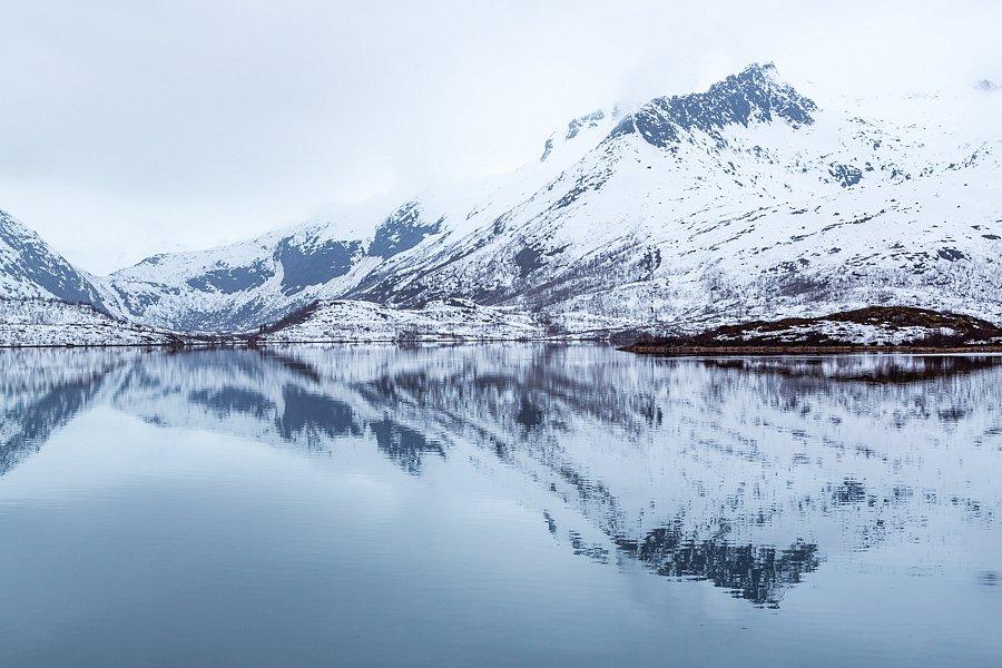 Der Spiegel (an der Kaiserroute, Lofoten)